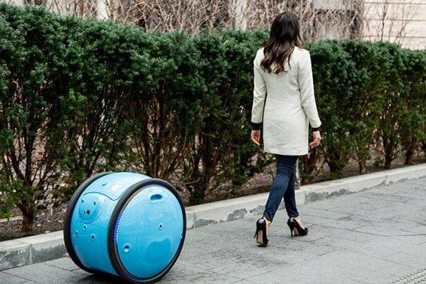 robot bagagli