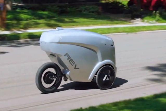 Rev-1, un robot per consegne agile ed economico