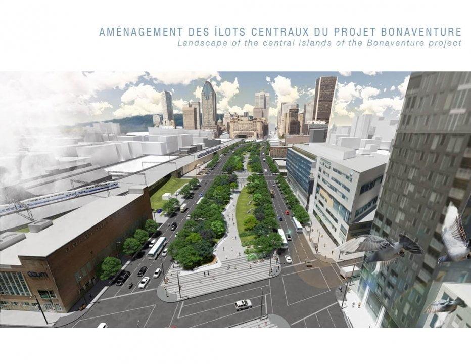 Spazi pubblici Montreal