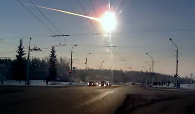 Asteroidi - incidente in Russia del 2013