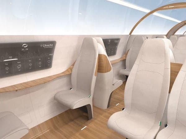 Hyperloop, the interior