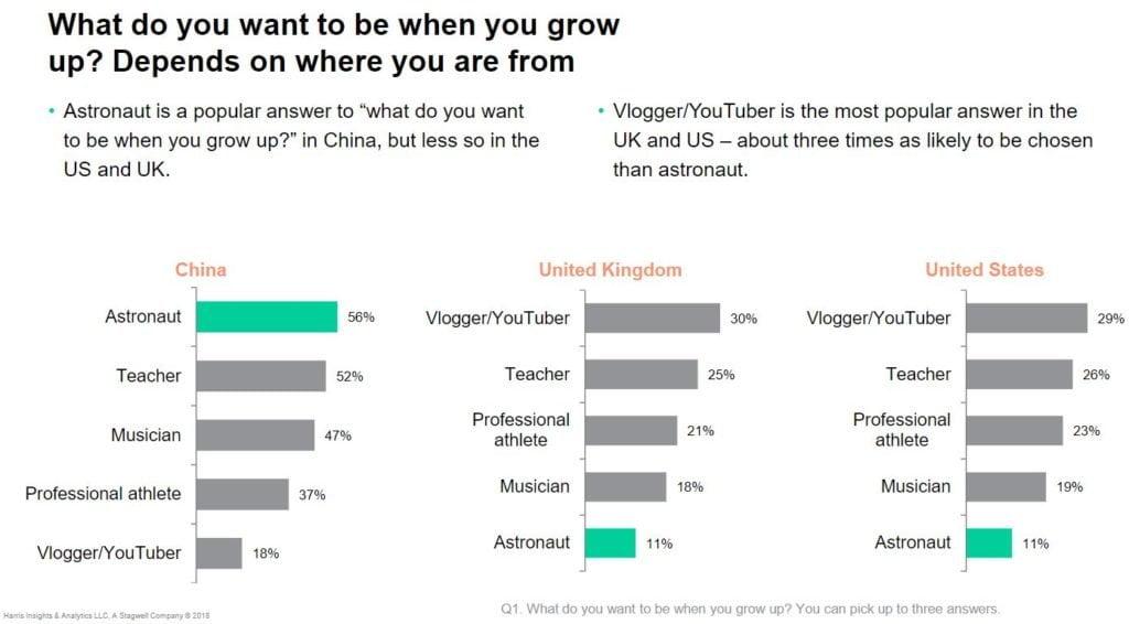 YouTuber - gli esiti del sondaggio
