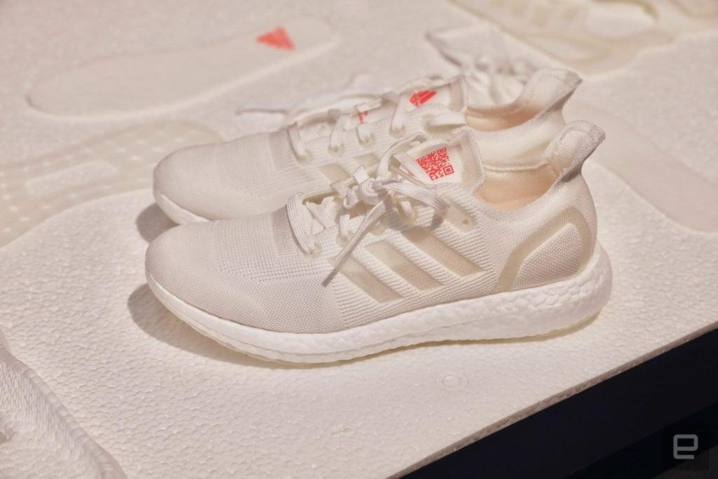 Adidas rende le scarpe riciclabili