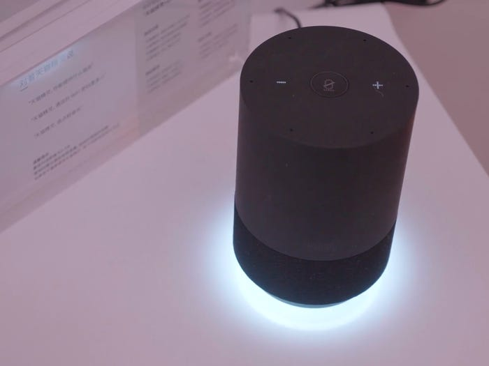 Hotel of the future, the voice assistant