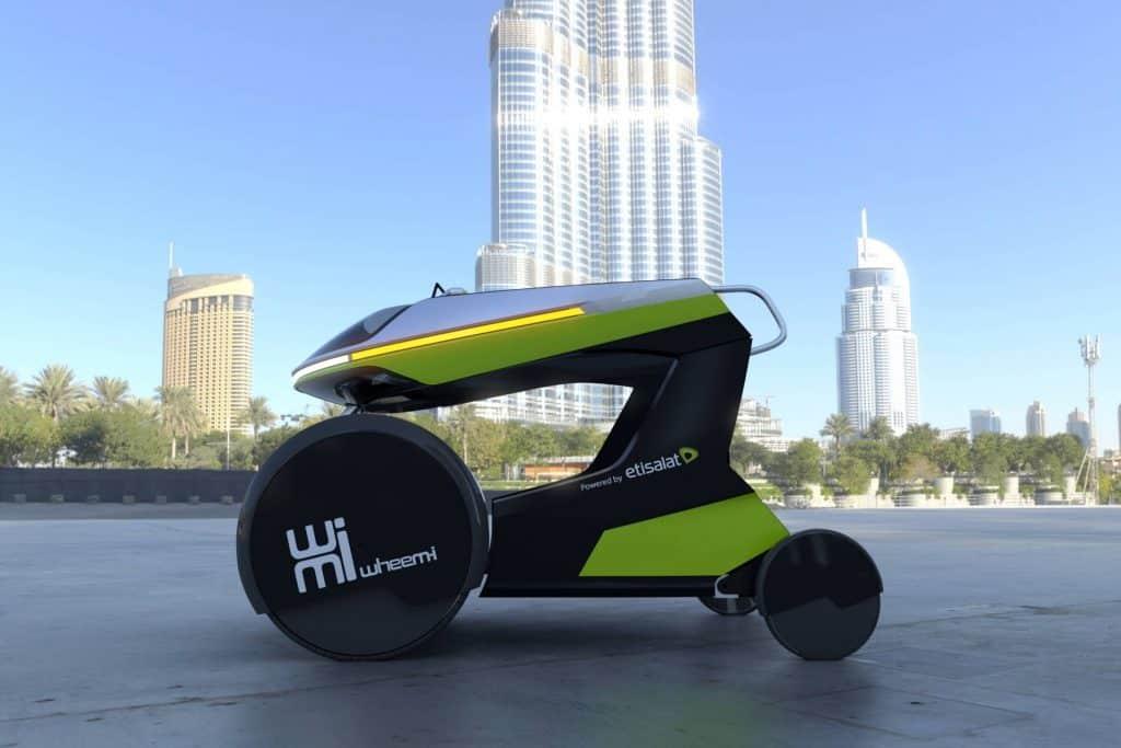 WheeM-I, veicolo elettrico per disabili