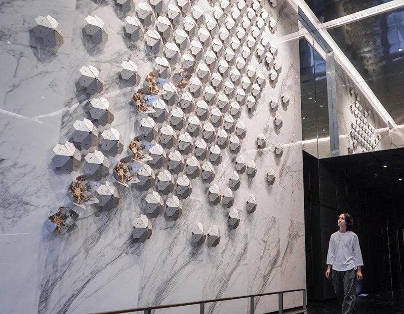 A Taiwan c'è un prato verticale di sculture cinetiche - Futuroprossimo