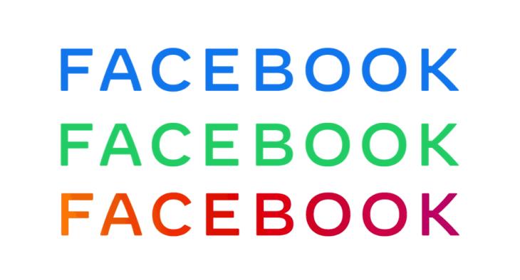 Nuovo logo facebook