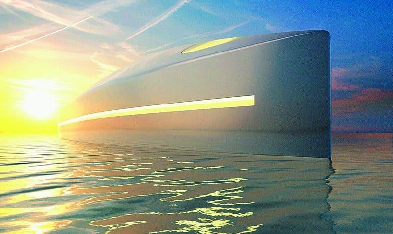 Project L, gli esterni dello yacht del futuro