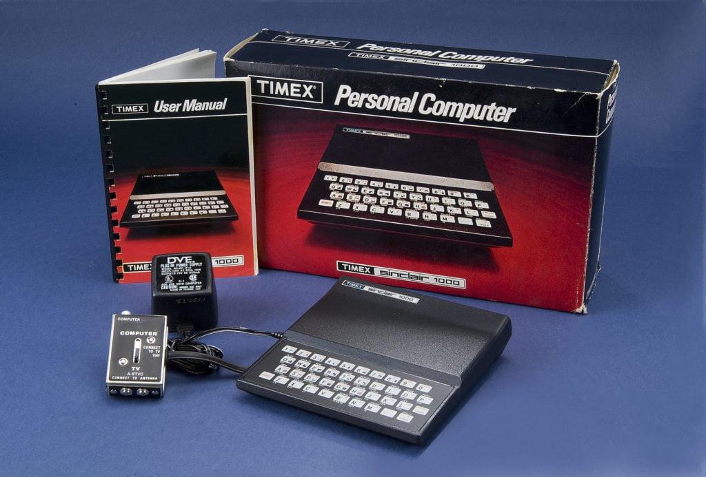 computer vintage - timex sinclair 1000
