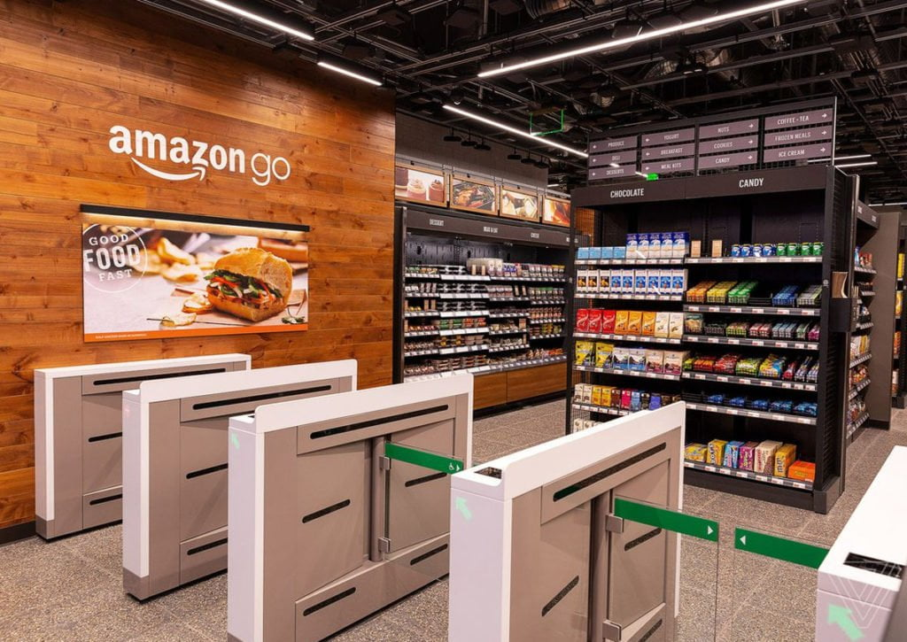 Il Futuro dello shopping, Amazon Go