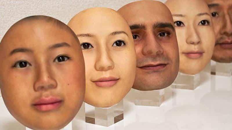 Maschera 3D per ingannare il riconoscimento facciale