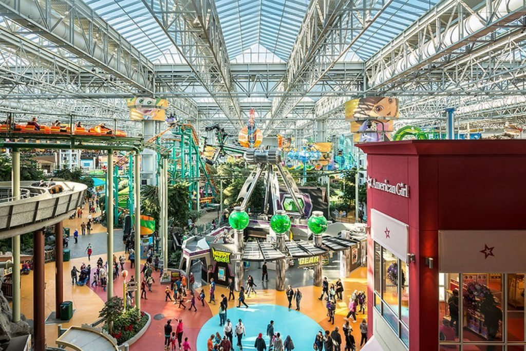 Shopping del futuro - il Mall of America
