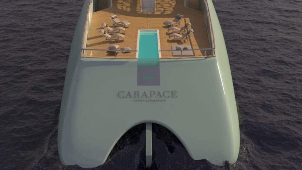 Carapace, lo yacht sommergibile firmato da Elena Nappi