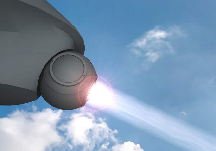 Spada laser, arma laser di israele