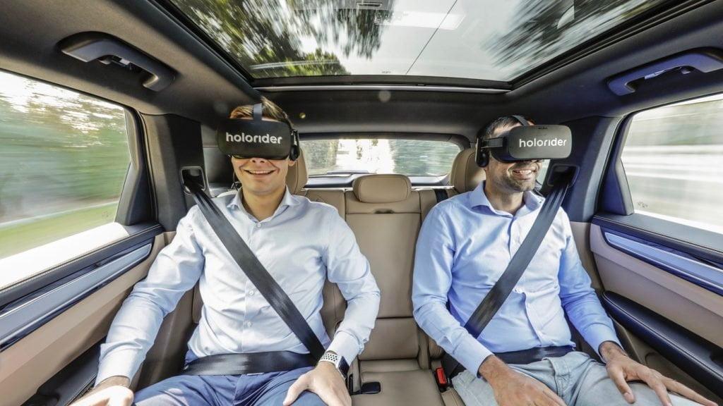 Holoride, VR auto