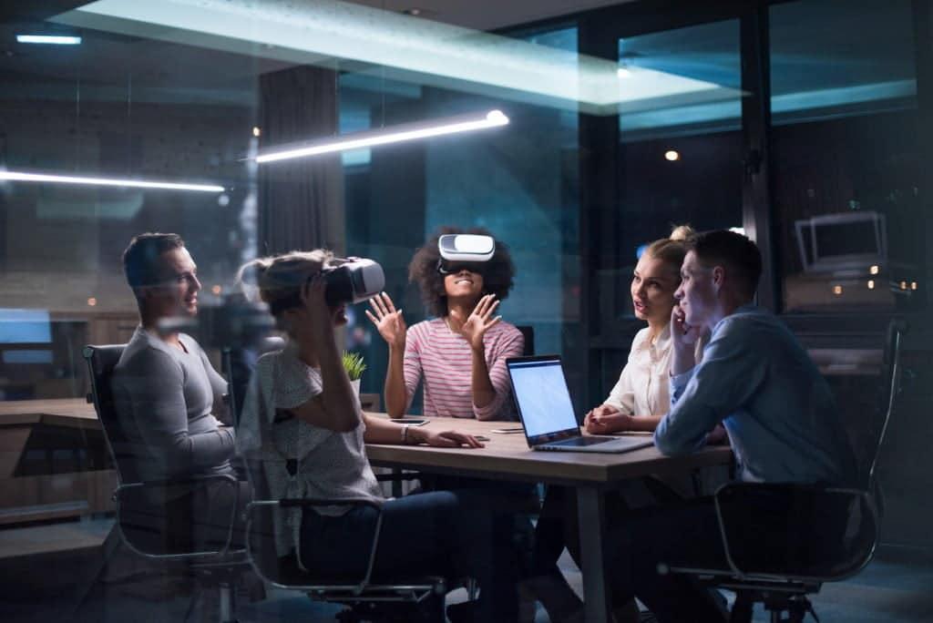 Mondi virtuali per lavorare insieme.