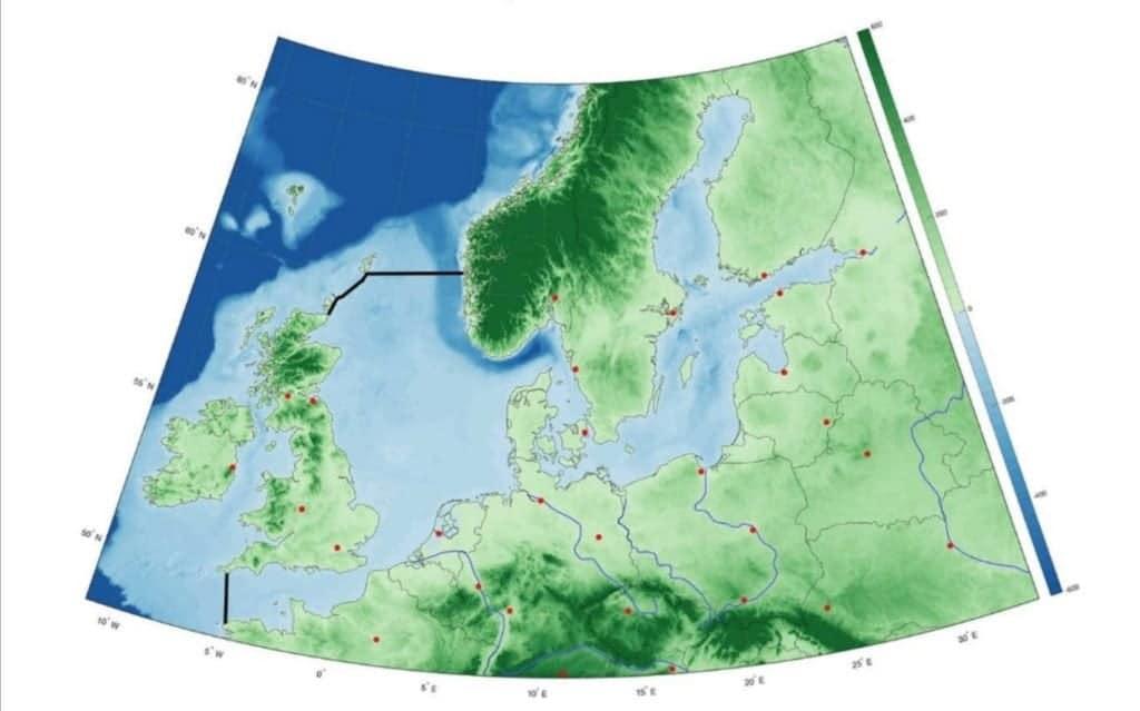 Dighe nel Mare del Nord