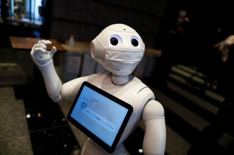 Robot quarantena