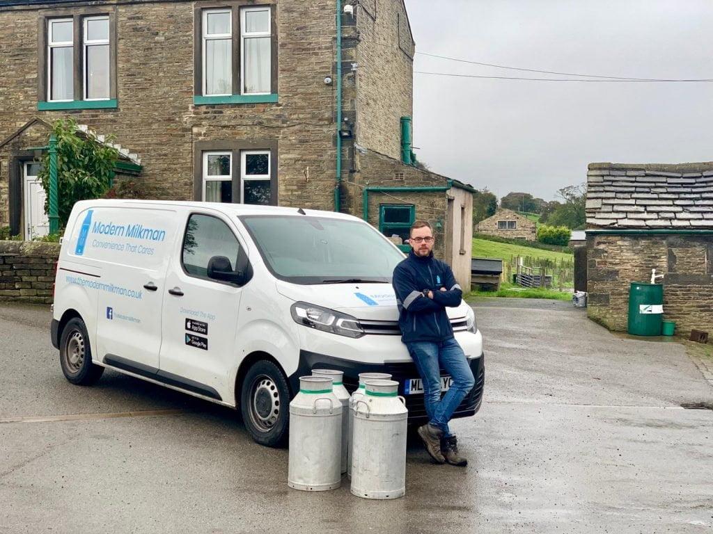 Raggiungere i clienti: modern milkman