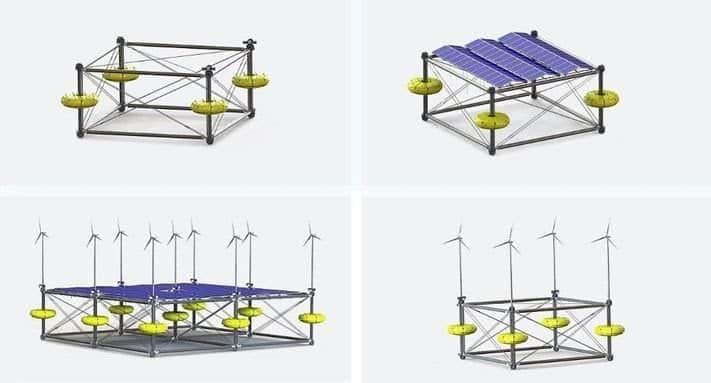 Sinn, piattaforma offshore per raccogliere energia solare, eolica e da moto ondoso
