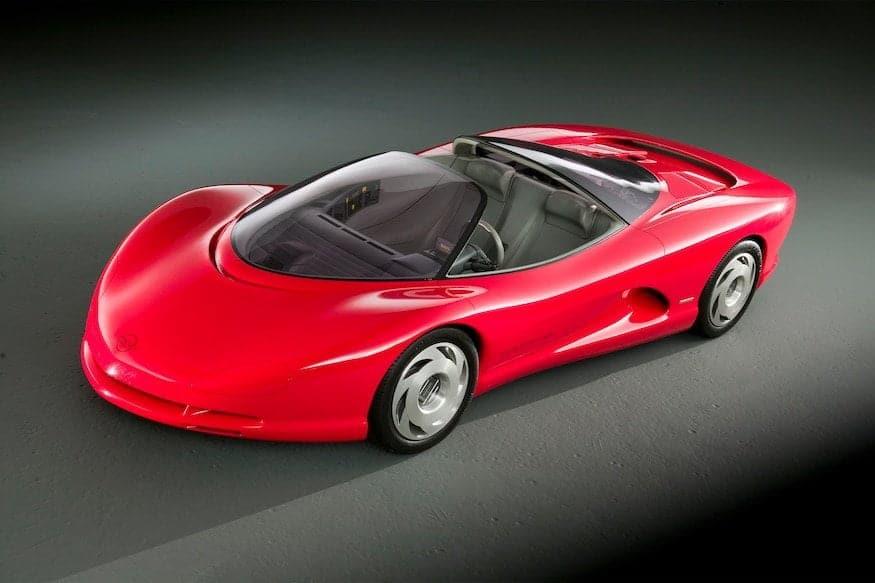 Concept car anni '80 - Chevrolet Corvette Indy