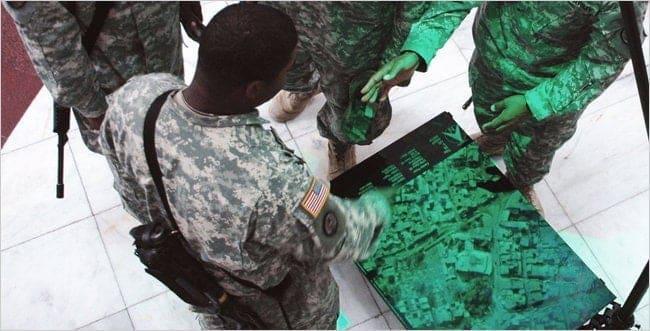 tecnologia olografica in campo militare