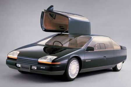 Concept car anni '80 - Nissan NX-21