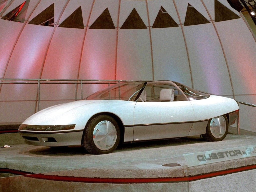 Concept car anni '80 - Buick Questor