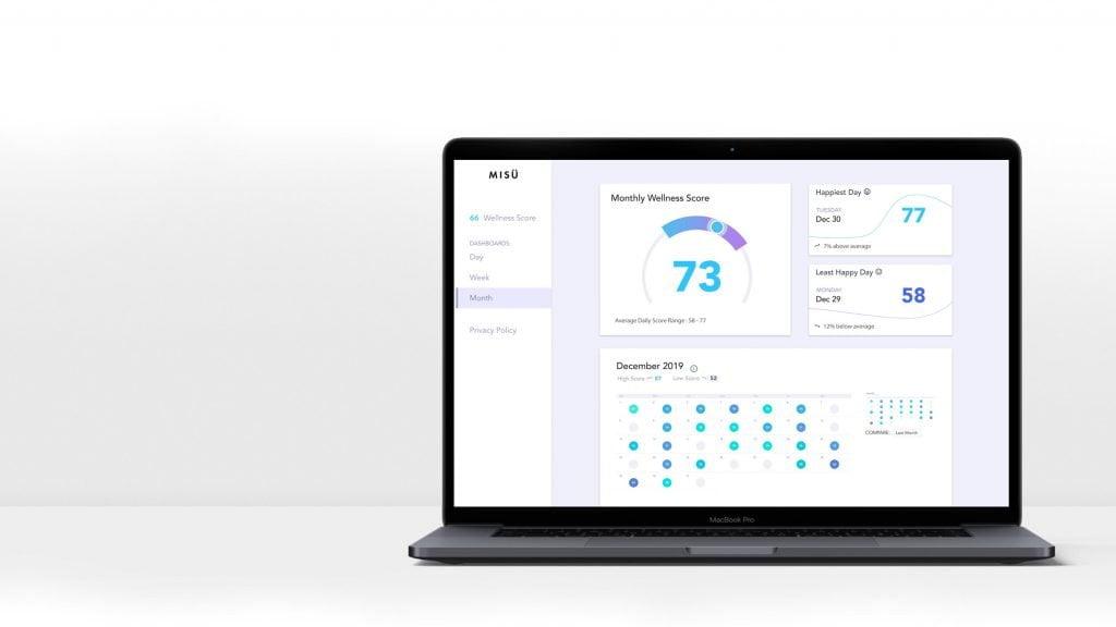 Misü, App zur Überwachung der Stimmung