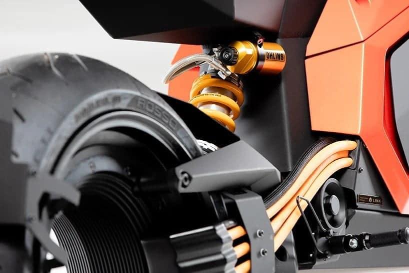 Verge TS moto elettrica