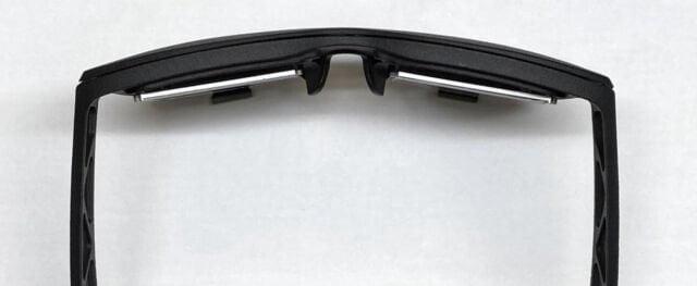visori VR come occhiali da sole