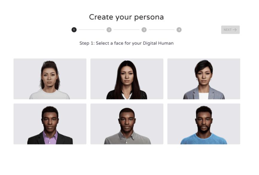 UneeQ Creator, una fabbrica di dipendenti digitali