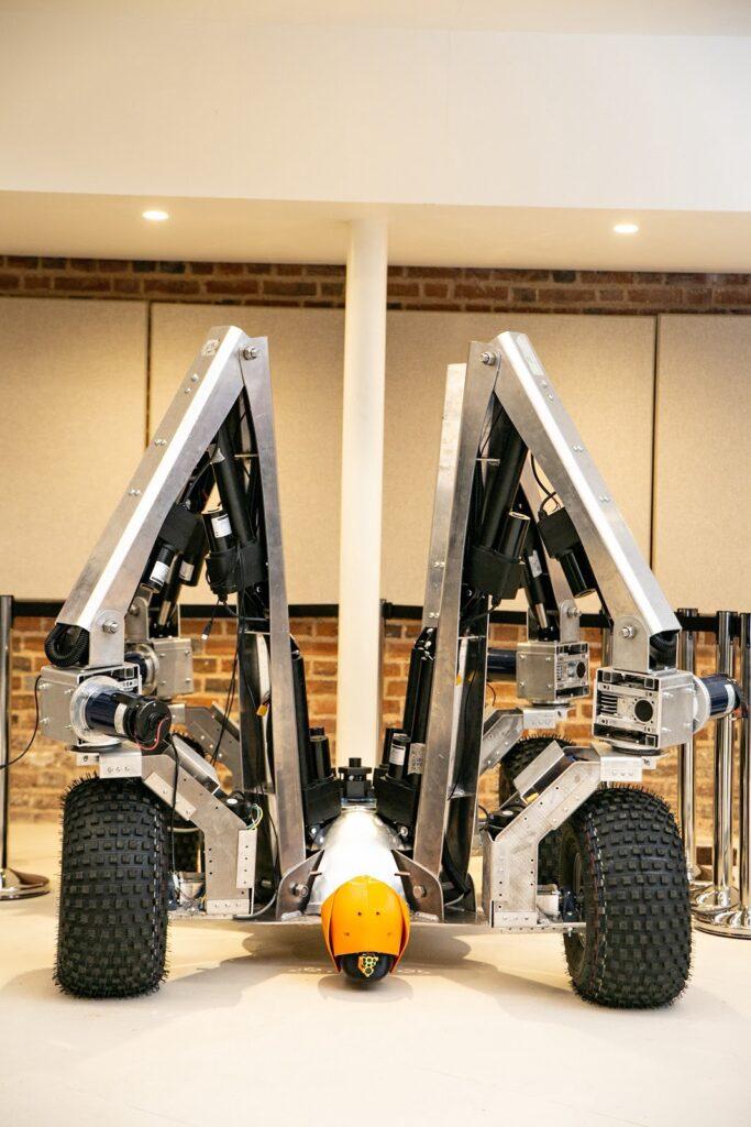 Robot anti erbacce Greenfield per evitare i pesticidi