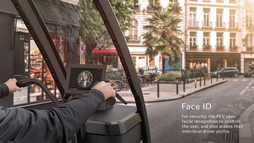 Il PEV (Persuasive Electric Vehicle) della DENSO è tra i veicoli elettrici e autonomi quello più promettente e versatile per il futuro dei trasporti .