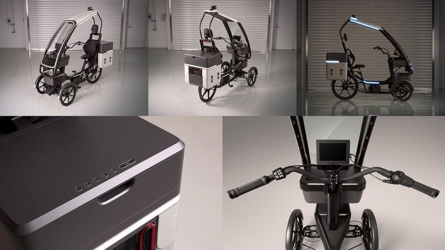 Il PEV (Persuasive Electric Vehicle) della DENSO è tra i veicoli elettrici e autonomi quello più promettente e versatile.