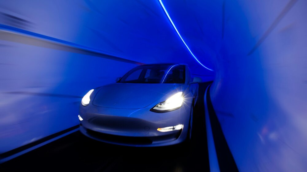rete di tunnel the boring company, metropolitana per auto