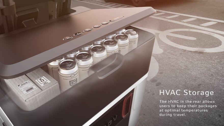Il PEV (Persuasive Electric Vehicle) della DENSO è tra i veicoli elettrici e autonomi quello più promettente e versatile per il futuro dei trasporti.