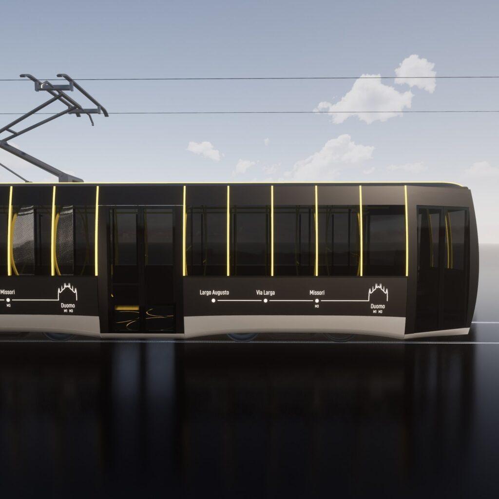 Passerella, lo storico tram milanese in versione anti Covid