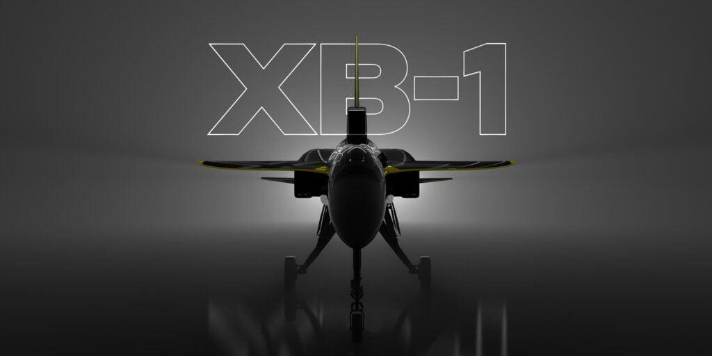 XB-1 aereo supersonico, overture