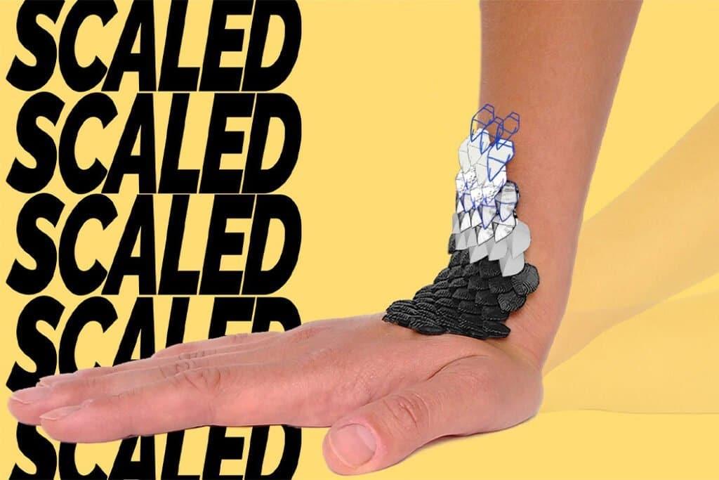 SCALED, tutore biodinamico realizzato con design generativo