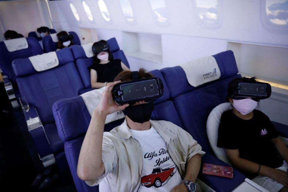 Tokyo First Airlines, vacanze virtuali, viaggi in realtà virtuale