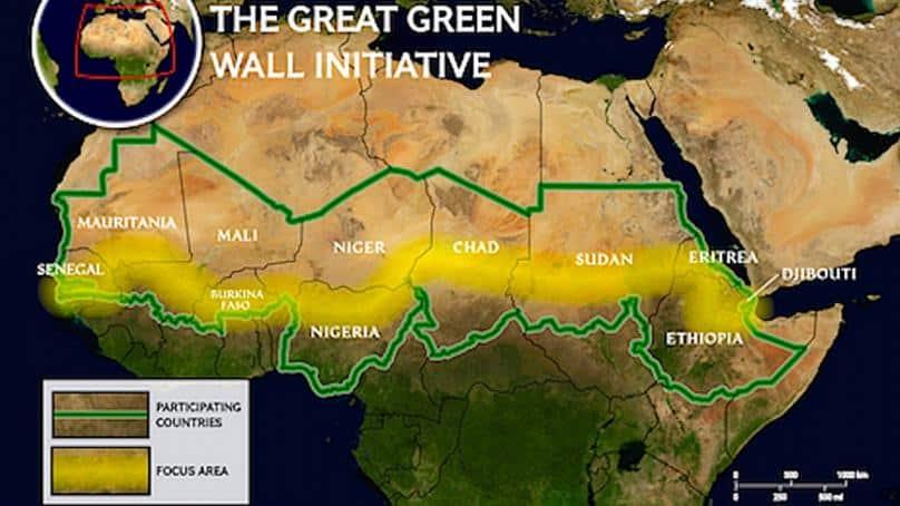 Grande Muraglia Verde, la nuova meraviglia del mondo