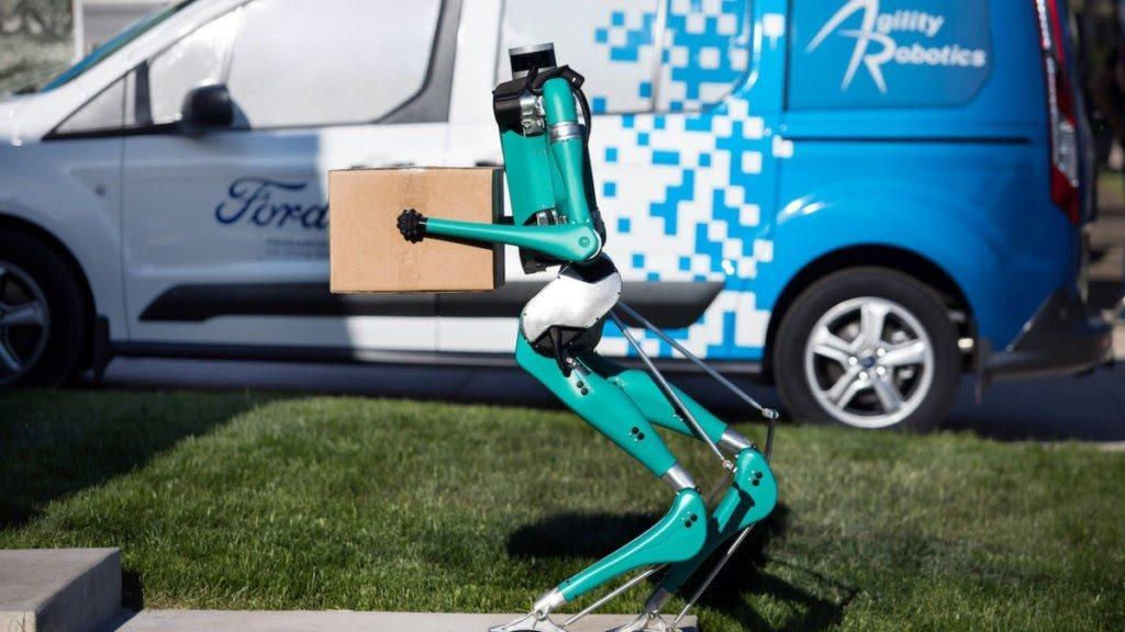 Gadget fantastici, robot bipede Digit