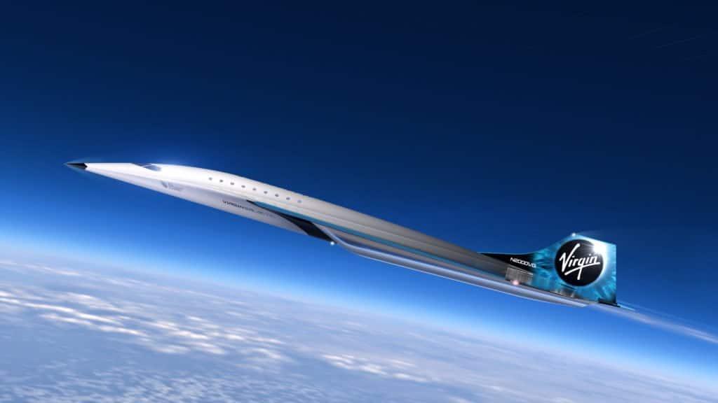 Aereo supersonico di Virgin Galactic