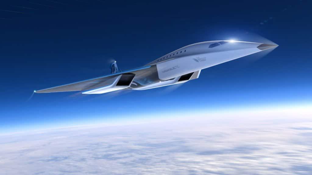 Il nuovo aereo supersonico di Virgin Galactic e Rolls-Royce