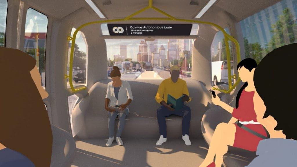 Strada del futuro, la strada per veicoli autonomi che la startup Cavnue progetta tra Detroit e Ann Arbor