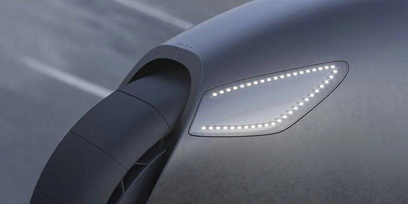 Mimic, concept di superbike elettrica di Roman Dolzhenko