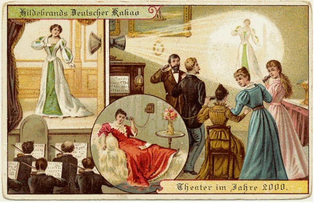 Gli anni 2000 visti dal 1900: teatro in diretta