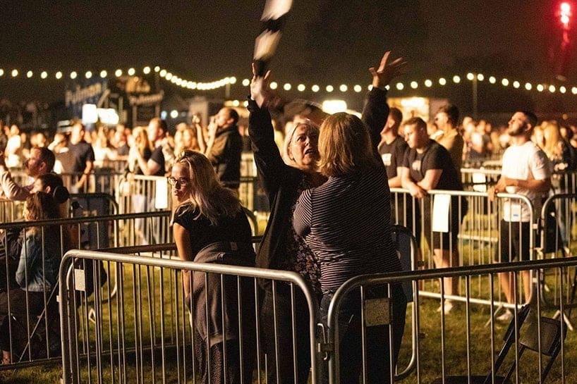 Concerti post Covid a distanza sociale