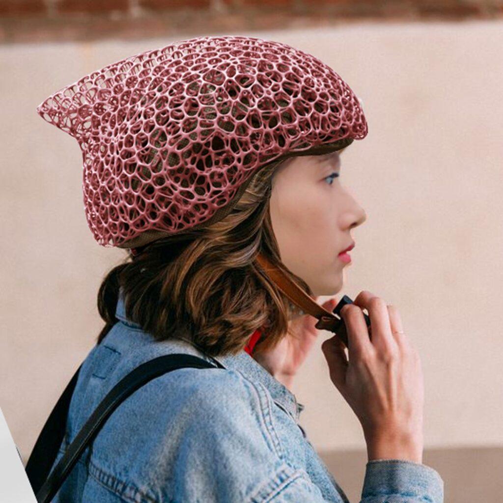 Les modèles de casque de vélo Voronoi